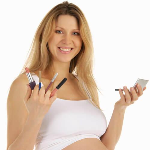 Mang thai có phun chân mày được không? 1